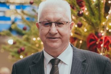 Ректор Константин Маркелов поздравляет АГУ с Рождеством