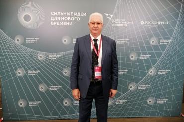 Константин Маркелов в Москве рассказал об участии АГУ в молодёжной политике региона