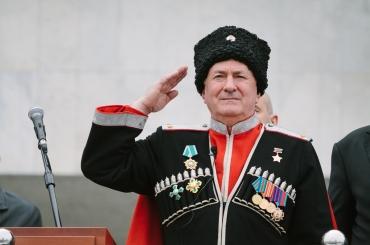 Поздравление с назначением на должность атамана Всероссийского казачьего общества Николая Долуды