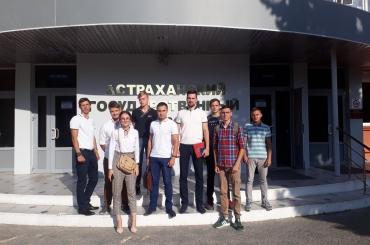 В Астраханском государственном университете создан студенческий казачий отряд
