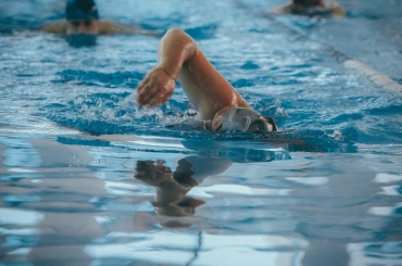 ASU Athletes Welcome 2021 with New Year Swim