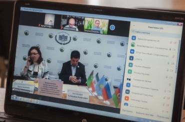 Константин Маркелов рассказал о геополитическом значении Каспийского региона на международной конференции