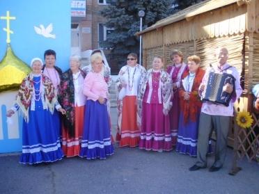 Фольклорный ансамбль казачьей песни «Волжаночка»